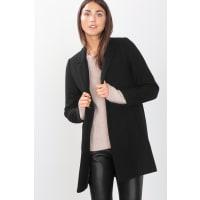 EspritBlazermantel aus italienischem Wollmix für Damen Black