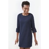 EspritModieuze jurk van chiffon Navy for Women