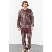 EspritFlanell-Pyjama aus 100% Baumwolle für Herren Red