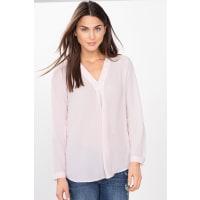 EspritFließende Bluse in modischer A-Linie für Damen Pastel Pink