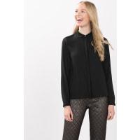 EspritFließende Crepe Bluse mit Georgette für Damen Black