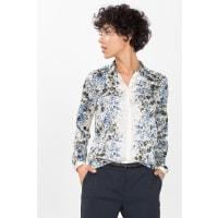 EspritSoepele blouse met glanzende print Off White for Women