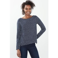EspritFließende Tunika-Bluse für Damen Navy