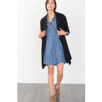 EspritSoepele denim jurk Blue for Women
