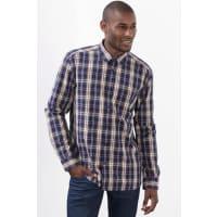 EspritGeruit overhemd, 100% katoen Navy for Men