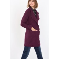 EspritMantel aus gekochtem Woll-Mix für Damen Bordeaux Red