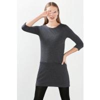 EspritGemêleerde, jersey jurk Navy for Women