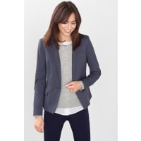 EspritMini-Karo Blazer mit Patches für Damen Dark Blue
