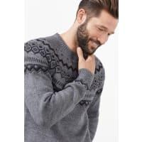 EspritNordic Pulli aus warmem Strick mit Wolle für Herren Grey