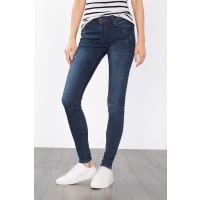 EspritSkinny-Jeans im Used-Look für Damen Blue Dark Washed
