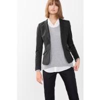 EspritStretch-Blazer mit edlem Schimmer für Damen Black