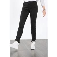 EspritPantalon stretch, en coton mélangé lisse Black pour Femmes