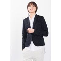 EspritTaillierter Jersey-Blazer für Damen Navy