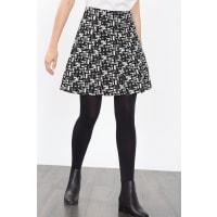 EspritJupe en jacquard bicolore Black pour Femmes