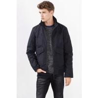 EspritWattierte Jacke aus Baumwolle für Herren Black