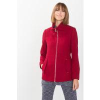 EspritWeiche Woll-Mix Jacke mit Reißverschluss für Damen Red