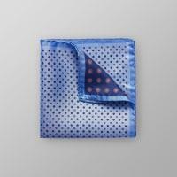 EtonBlue Geometric Pocket Square