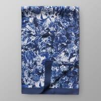 EtonBlue Floral Silk Scarf