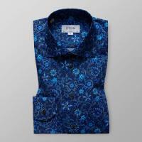 EtonBlåblommig skjorta