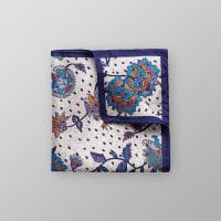 EtonFloral Silk Pocket Square
