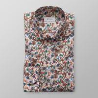 EtonBlommönstrat skjorta - Extra lång ärm