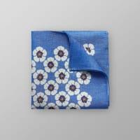 EtonFloral Linen & Silk Pocket Square
