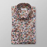 EtonBlommönstrad skjorta - poplin
