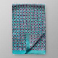 EtonGreen Geometric Silk Scarf