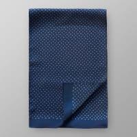EtonMarinblåblommig sidenscarf