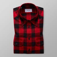 EtonRödrutig flanellskjorta