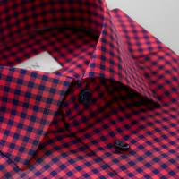EtonRödrutig skjorta