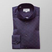 EtonRed Floral Print Shirt