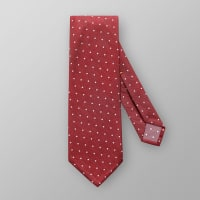 EtonRed Dotted 7-fold Cotton Tie