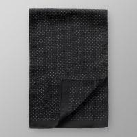 EtonBlack Dotted Silk Scarf
