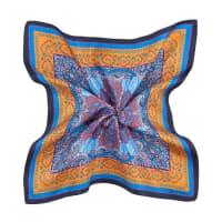 EtroSeiden-Einstecktuch (Blau / Bunt) - Herren (Unisize)