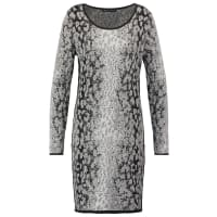 ExpressoHAUKE Gebreide jurk grey melange