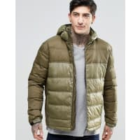 Fat MooseCosmo Quilted Jacket Hooded - Green