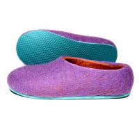 Felt FormaWomens Felt Slippers Purple AuraWomens US 7.5