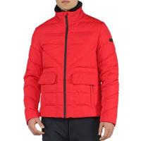 FendiBasic Nylon Puffer Jacket, Red