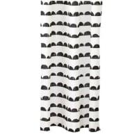 Ferm LivingHalf Moon shower curtain black-white
