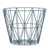 Ferm LivingWire Basket - Petrol
