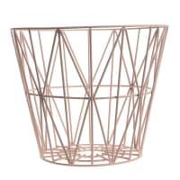 Ferm LivingWire Basket - Rose