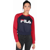 FilaCoco Crop W sweat rouge bleu