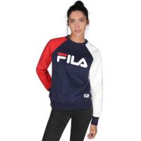 FilaNelly Boyfriend W Sweater sweat bleu blanc rouge bleu blanc rouge