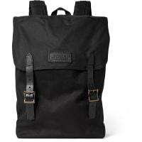 FilsonRanger Leather-trimmed Twill Backpack - Black