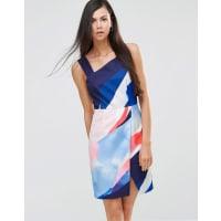 Finders KeepersDiving Under - Kleid mit One-Shoulder-Träger - Mehrfarbig