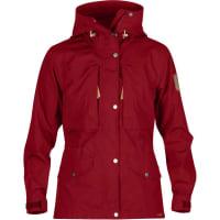 FjällrävenWomens Sarek Trekking Jacket - Deep Red / XL