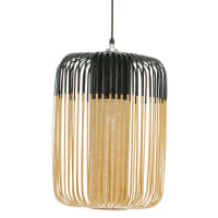 ForestierBAMBOO - Suspension Bambou/Noir H50cm - Suspension Forestier designé par Arik Levy