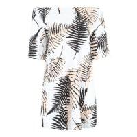 FornarinaOversized-Kleid Tebe mischfarben / weiß