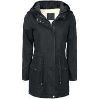 ForplayGirl Jacket with Faux Fur Lining Girl-Winter-Jacke schwarz